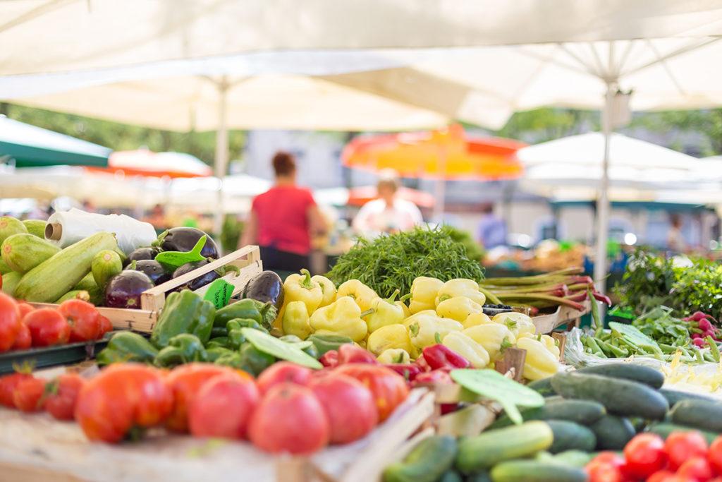 marché alimentaire fronsadais