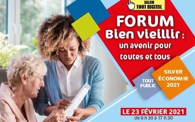 Forum bien vieillir : salon 100% numérique et intéractif