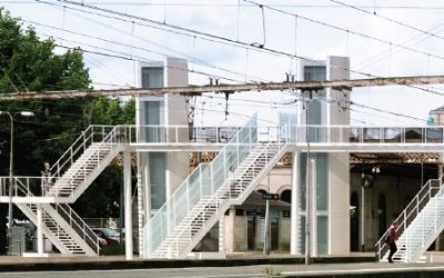 Construction d'une passerelle en Gare de Libourne : Opération «coup de poing» les week ends des 29-31 mai et 5-7 mai