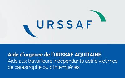 Urssaf Aquitaine : aide d'urgence aux travailleurs indépendants victimes de catastrophe ou d'intempéries