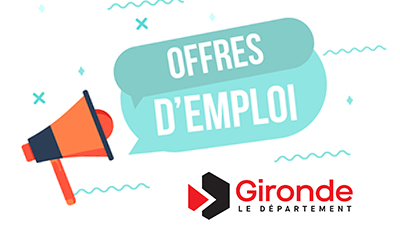 Département de la Gironde : Offre d'Emploi