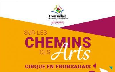 NOUVEAU : Programme «Sur les chemins des arts cet été» disponible !