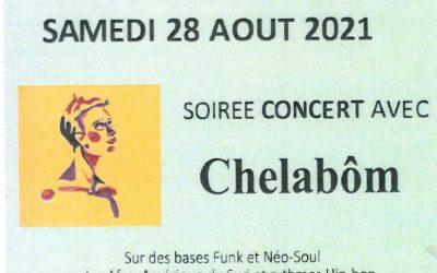 Mouillac : Soirée-concert 28/08